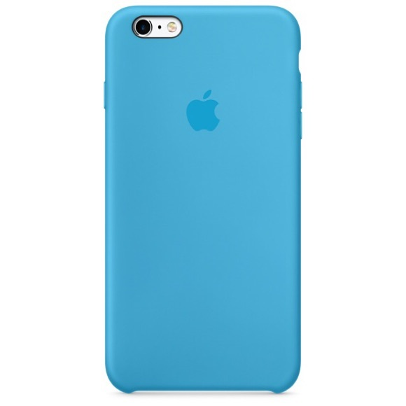 hot sale online 043f6 467b9 Apple iPhone 6/6s Light Blue Silicone Case - NWT Boutique